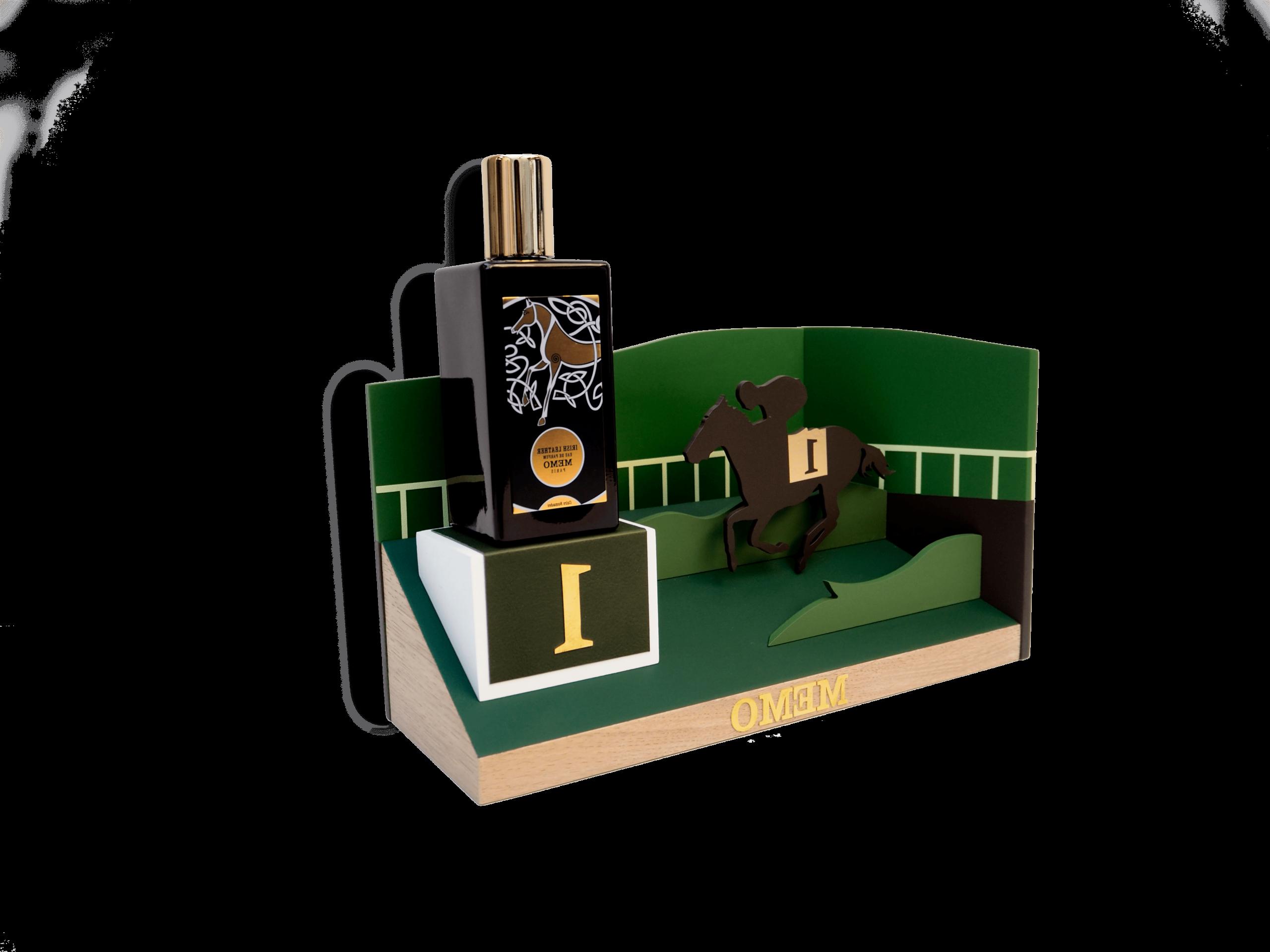 IrishLeather-MEMO-perfume-parfum-cambon-presentoir-mersh-vitrine-window-boutique-OKTO-_03-min